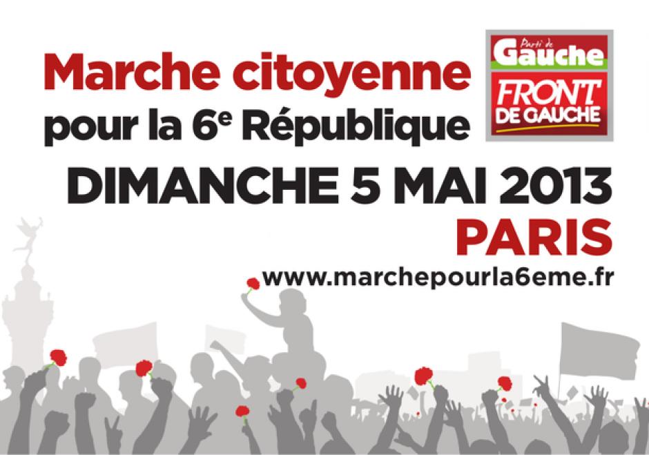 Marche citoyenne du 5 mai, à Paris, lire la suite...